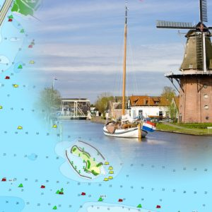 Binnenkarte Niederlande Holland